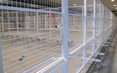 Afscherming hoogspanningslaboratorium KEMA
